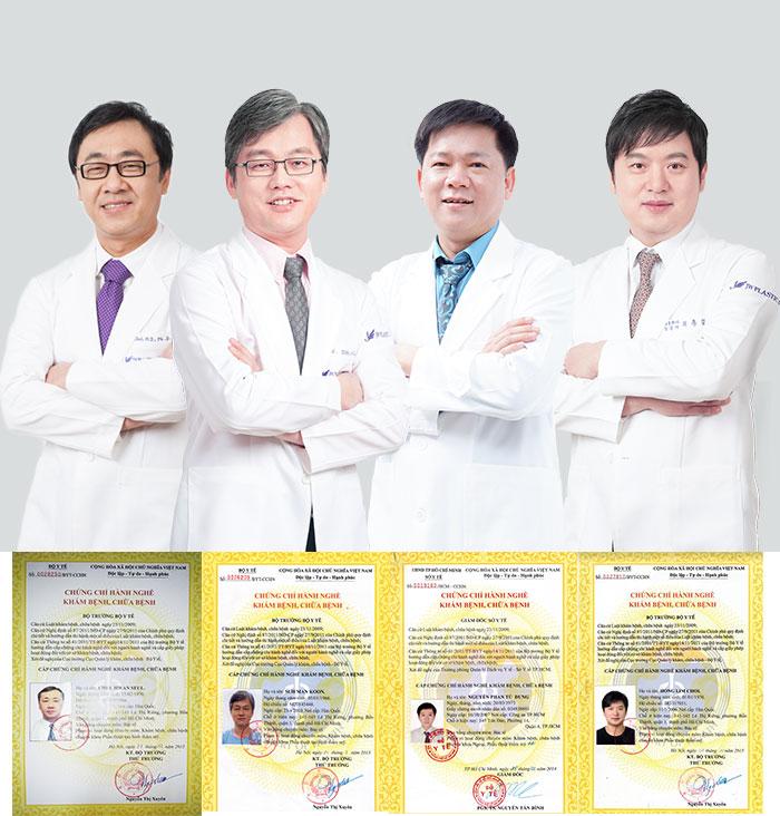 bệnh viện thẩm mỹ chất lượng với bác sĩ tại Hàn Quốc