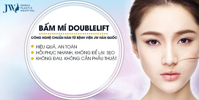 Bấm mí Hàn Quốc Doublelift – Mắt đẹp như sao Hàn