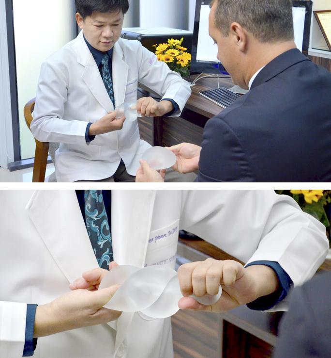 Nâng ngực vĩnh viễn bằng túi Nano Chip